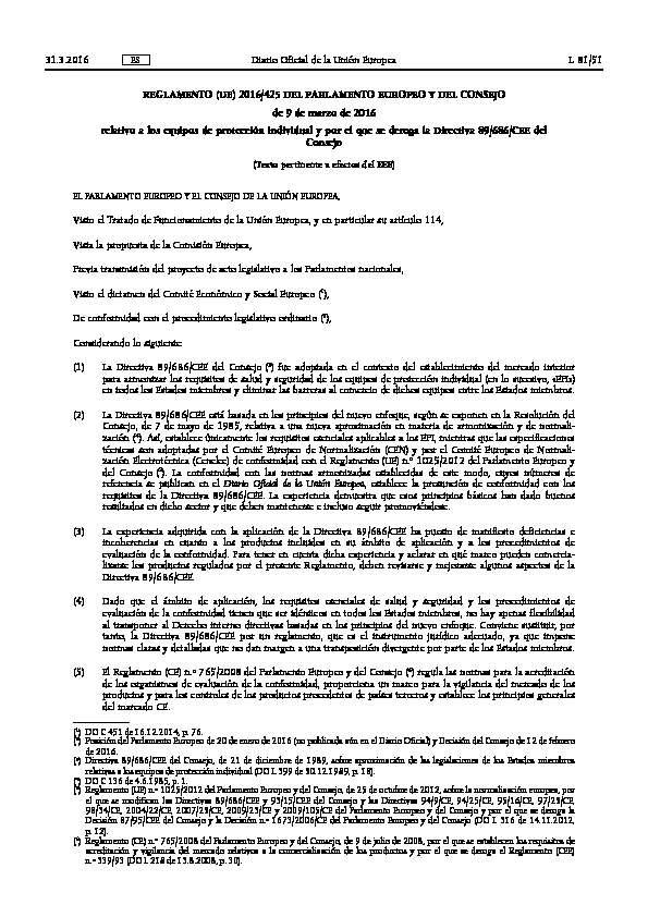 reglamento epis